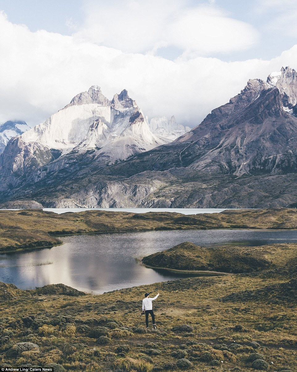 16 stunning photos of epic landscapes with one solitary person gazing at the view 10