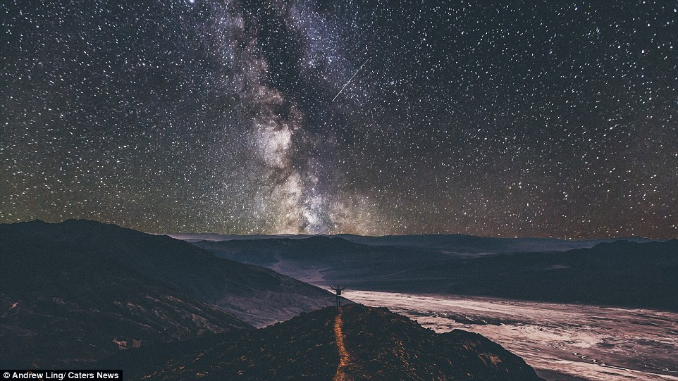16 stunning photos of epic landscapes with one solitary person gazing at the view 14