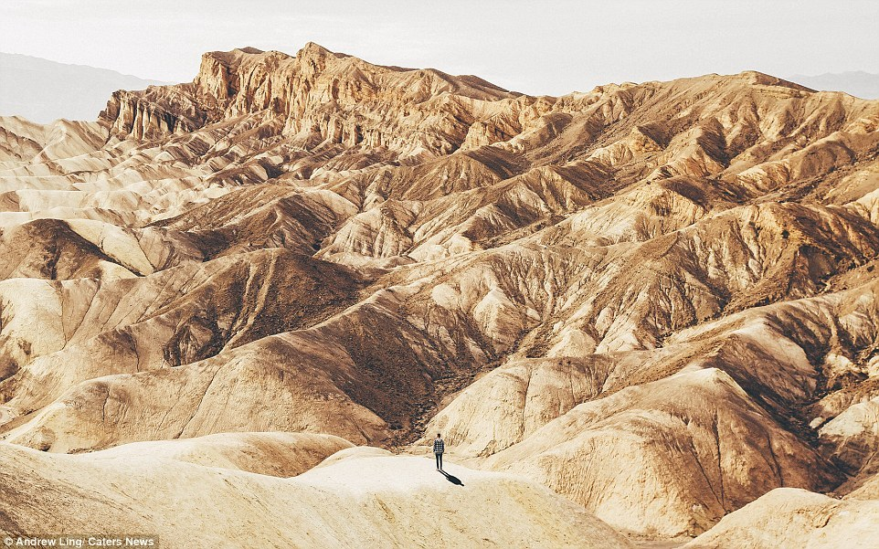 16 stunning photos of epic landscapes with one solitary person gazing at the view 3