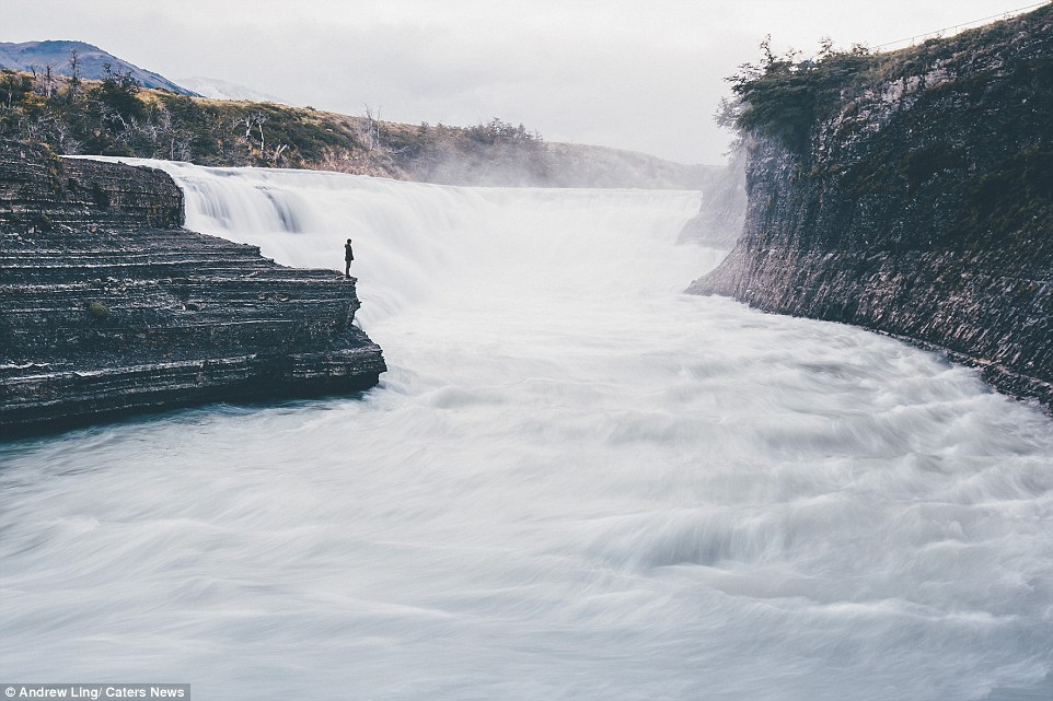 16 stunning photos of epic landscapes with one solitary person gazing at the view 4
