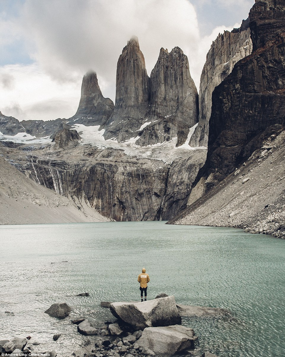 16 stunning photos of epic landscapes with one solitary person gazing at the view 7