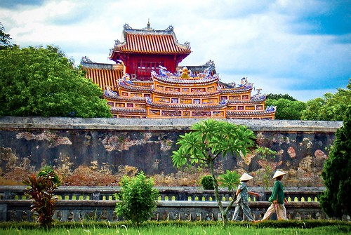 77 Quang Duc Gate Hue Forbidden Purple City Vietnam Maps Address Opening Hours Guide Hue Tourist Attractions 2 Living Nomads Travel Tips Guides News Information