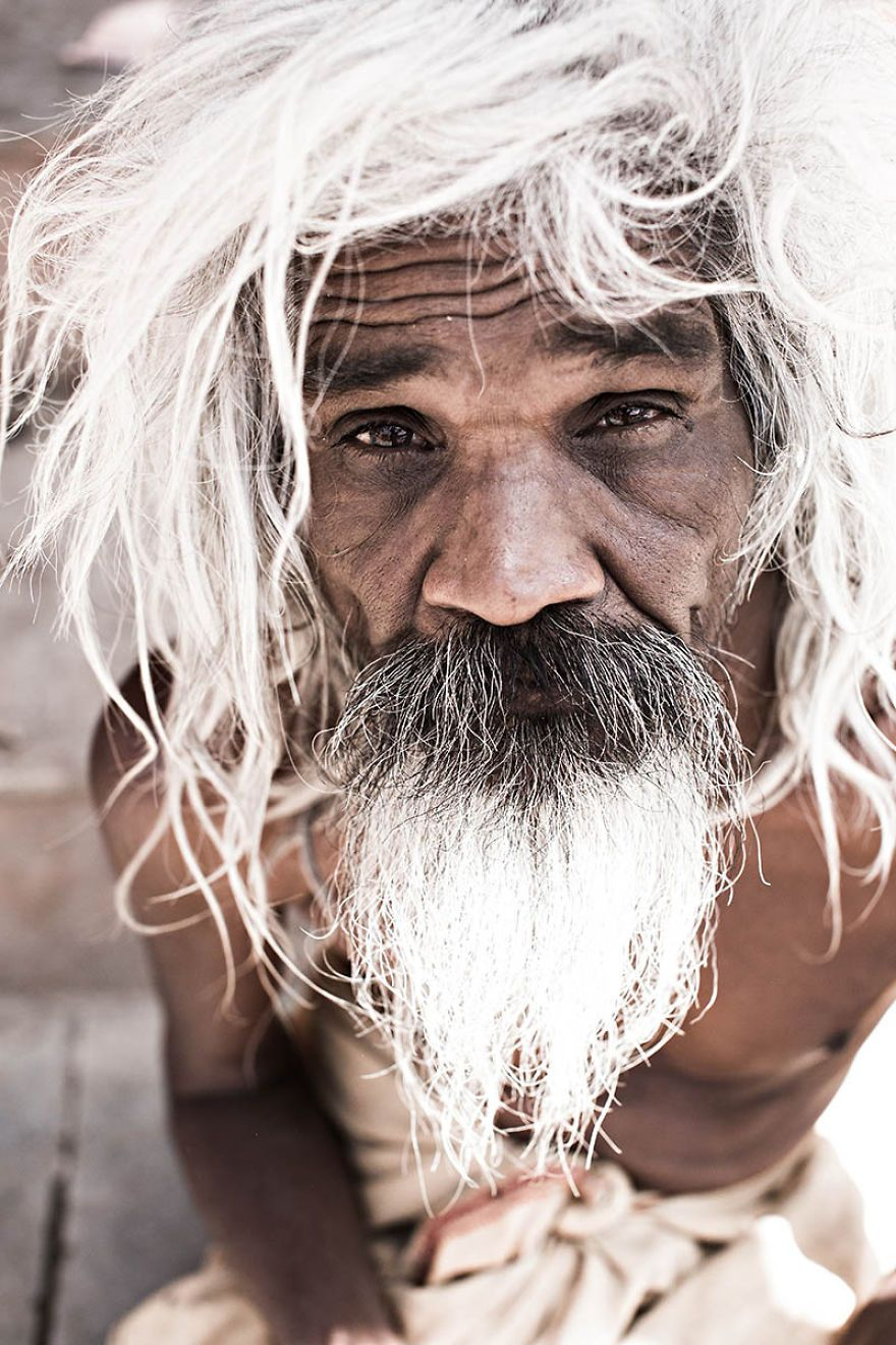 A Sadhu Of Rajasthan Eyes-are-windows-of-the-soul