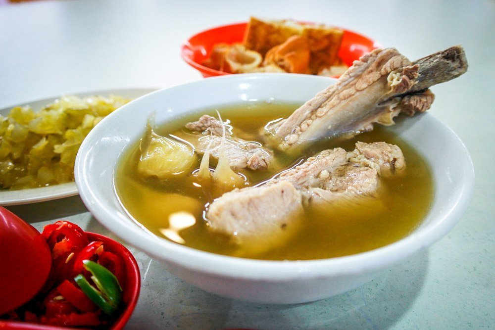 Bak Kut Teh is a popular dish and a good tonic for health