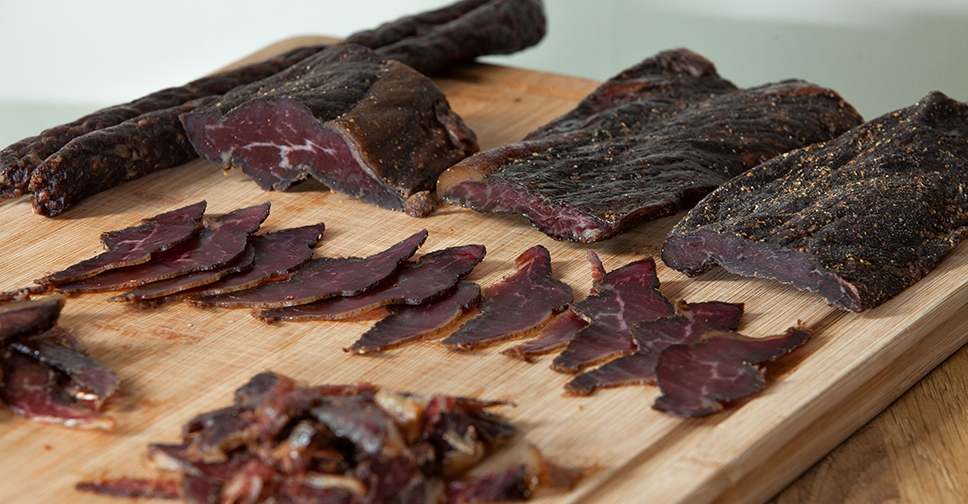 Different kinds of meat are used to make biltong out of Photo: oceanlegendstours