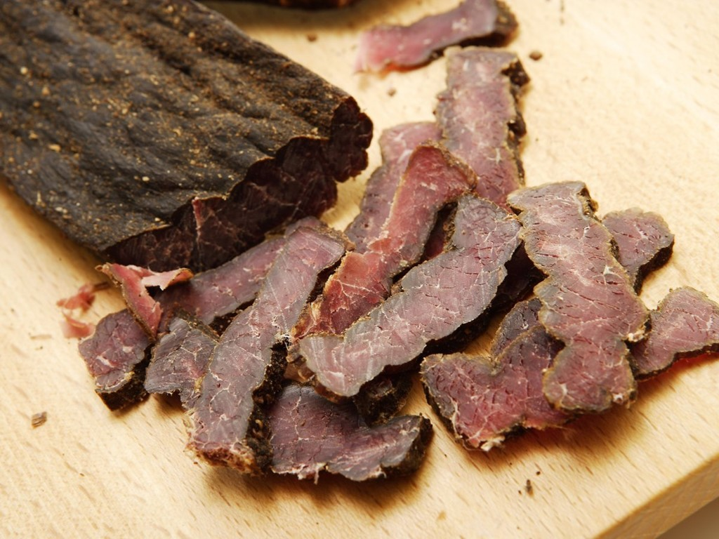 Biltong - kind of like beef jerky in South Africa Photo: business insider