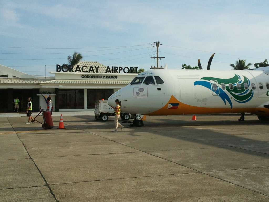 Caticlan airport. Photo: ihcahieh.com