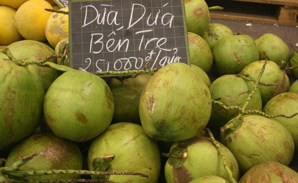 'Dừa dứa'. Photo: ngoisao.net