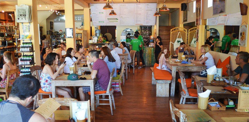 Earth Café in Seminyak.