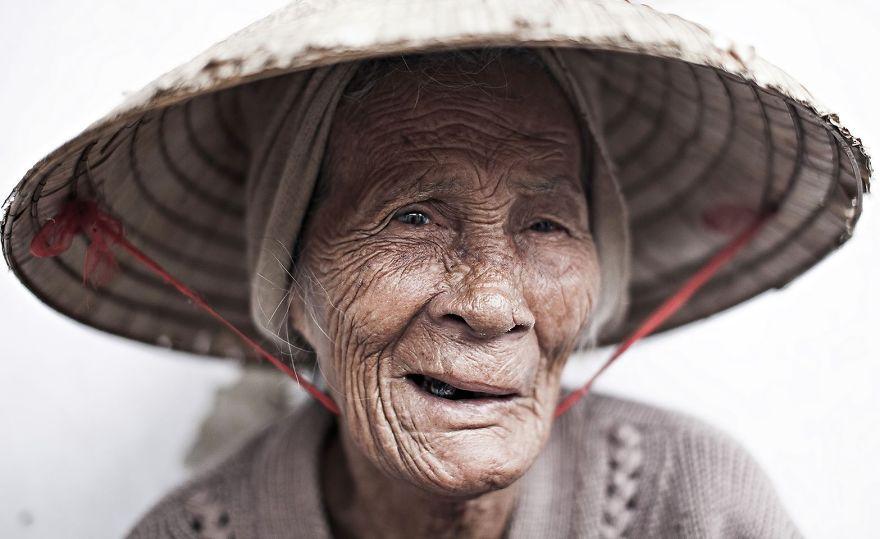 Elder Woman Met In Hoi An (Vietnam)