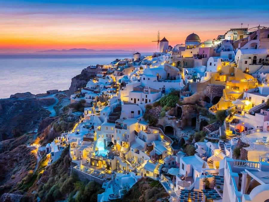 santorini island photo, greece
