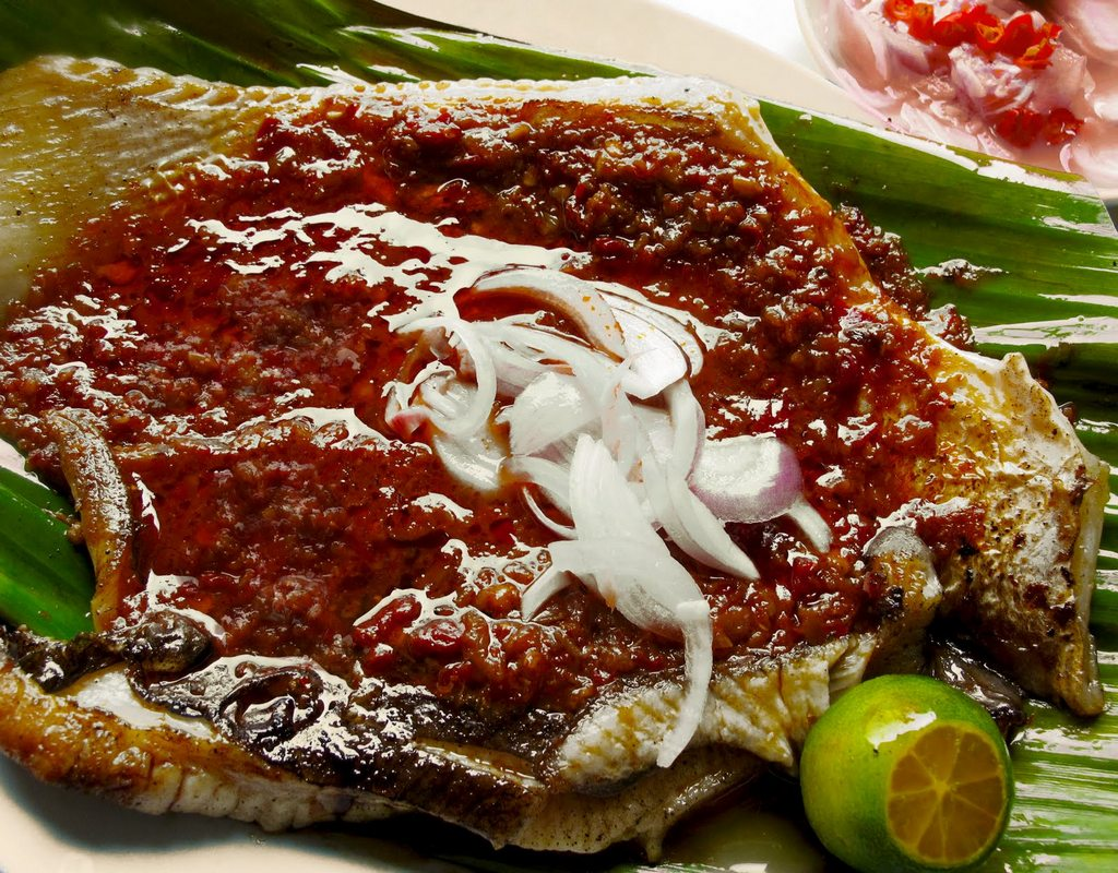 Grilled Sambal Stingray_Singapore Food_Source www.mummyicancook.com