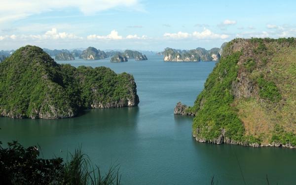 Ha Long Bay Quang Ninh province Titov island travel guide