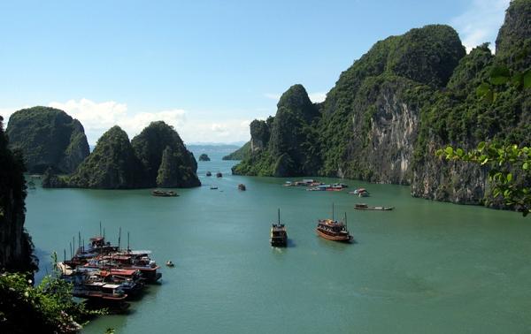Ha Long Bay Quang Ninh province Titov island things to do