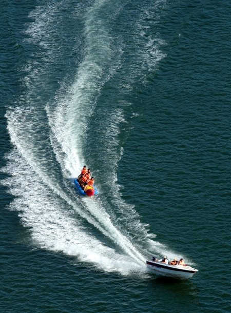 surfing Ha Long Bay Titov island thing to do