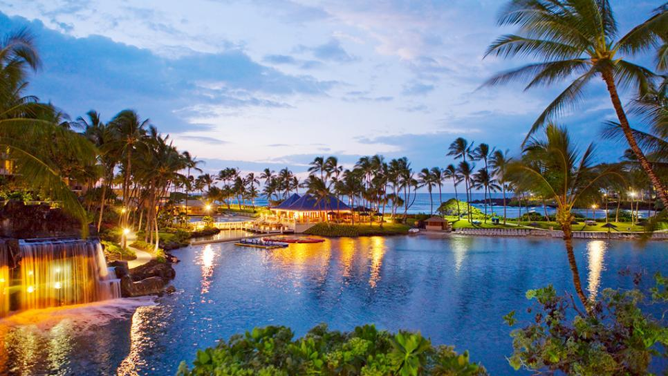A beautiful resort on Big Island, Hawaii Photo: travelchannel