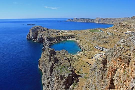 Heart-Shaped Lake, Greece   worldtoptop.com