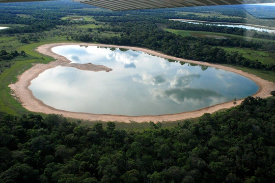 Heart-Shaped Saline, Brazil - httpworldtoptop.com