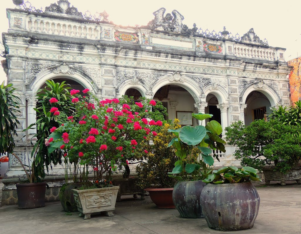 Huynh Thuy Le ancinet house Dong Thap tourist attraction Vietnam