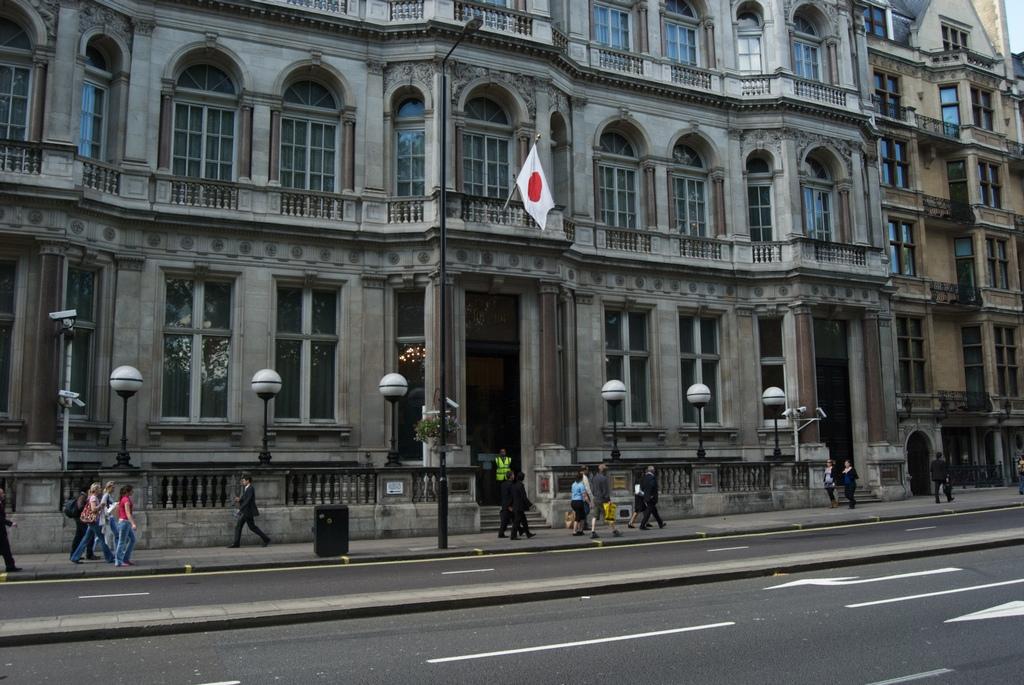 Japanese Embassy in London.Photo by en.wikipedia.org