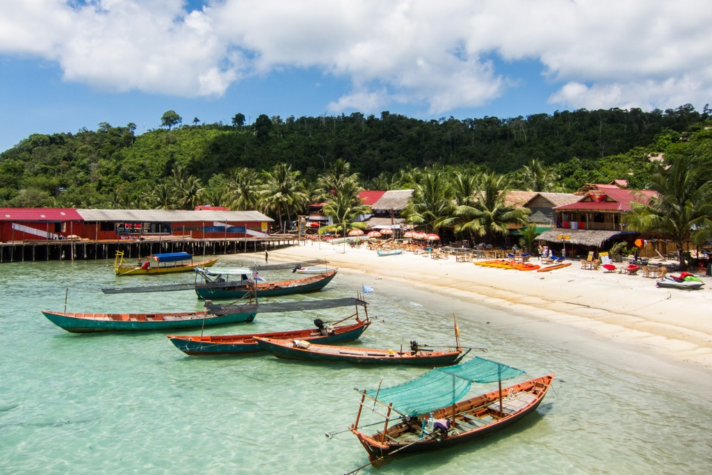 Koh Rong is actually different thanks to its wild and untouched beauty Photo: mediafoody