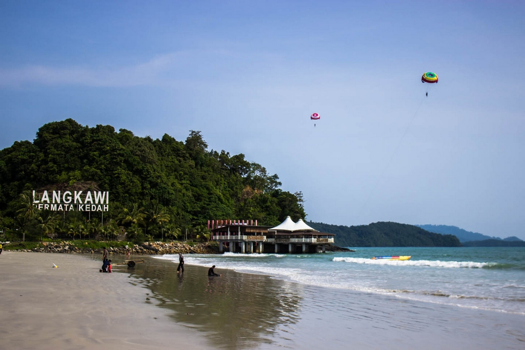 Cenang - one of the most popular beach in Langkawi Photo: ourglobaltrek
