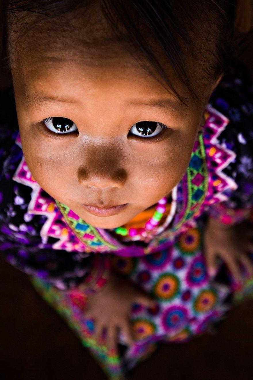 Little Girl Hmong