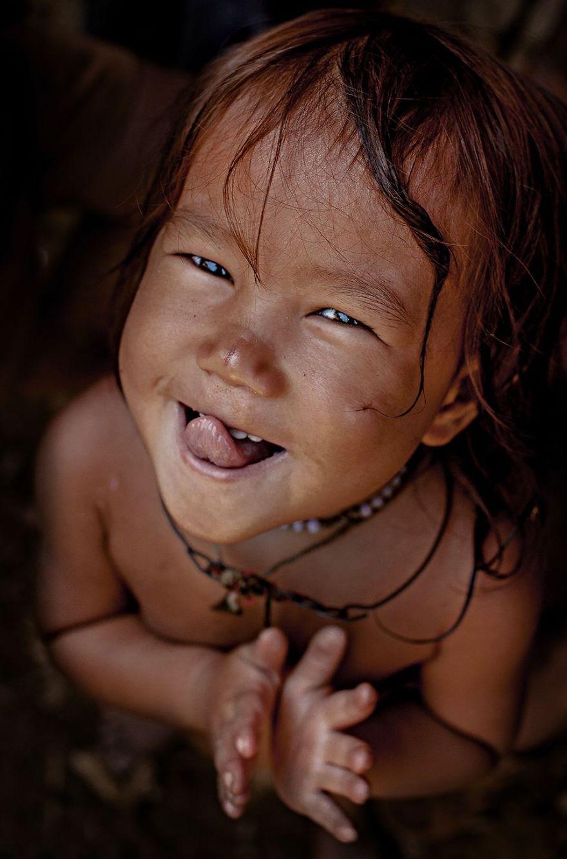 Little Hmong Girl Vietnam
