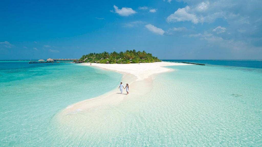 Maldives is a dream for many tourists all over the world Photo: ivivu