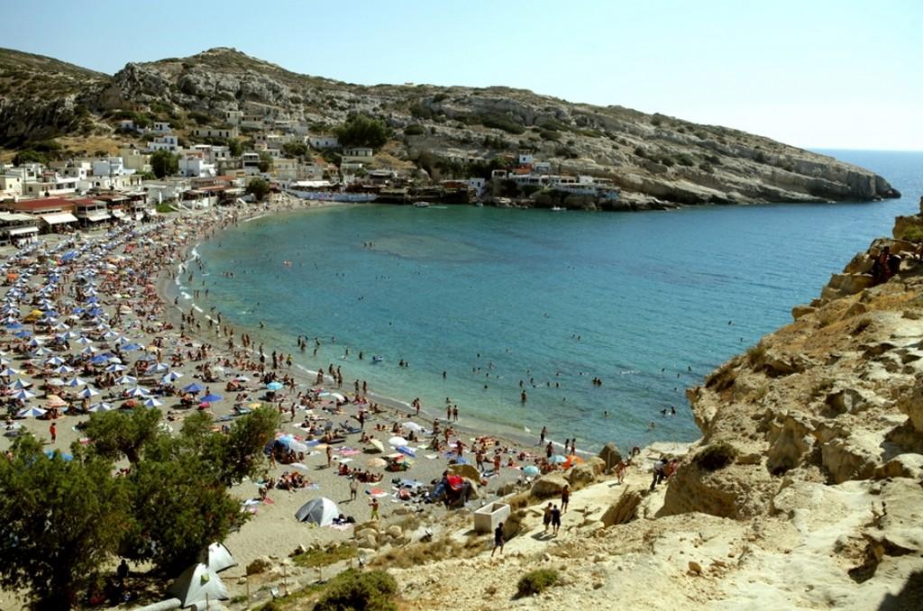 Matala Beach_Greece Beaches_Source mygreecetravelblog.com