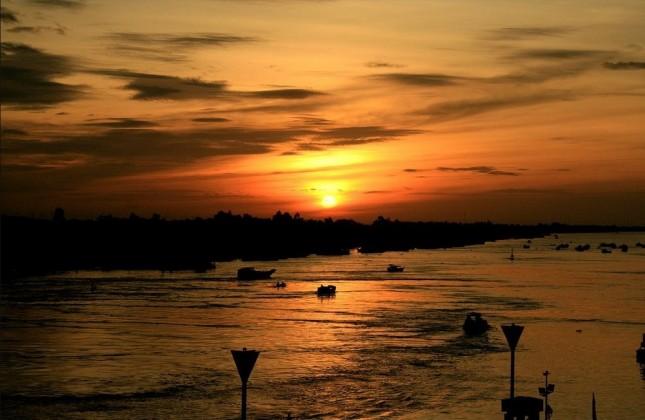 In Chau Doc, An Giang. Photo: americatramp.the2nd/panoramio.com