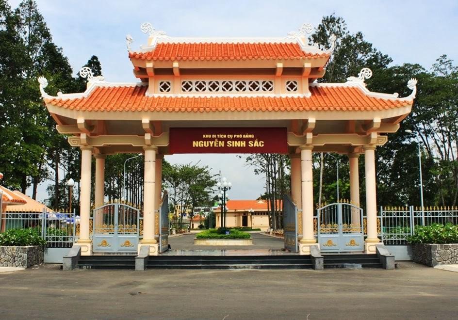 Mr. Nguyen Sinh Sac Memorial Site. Photo: tinnongdulich.com