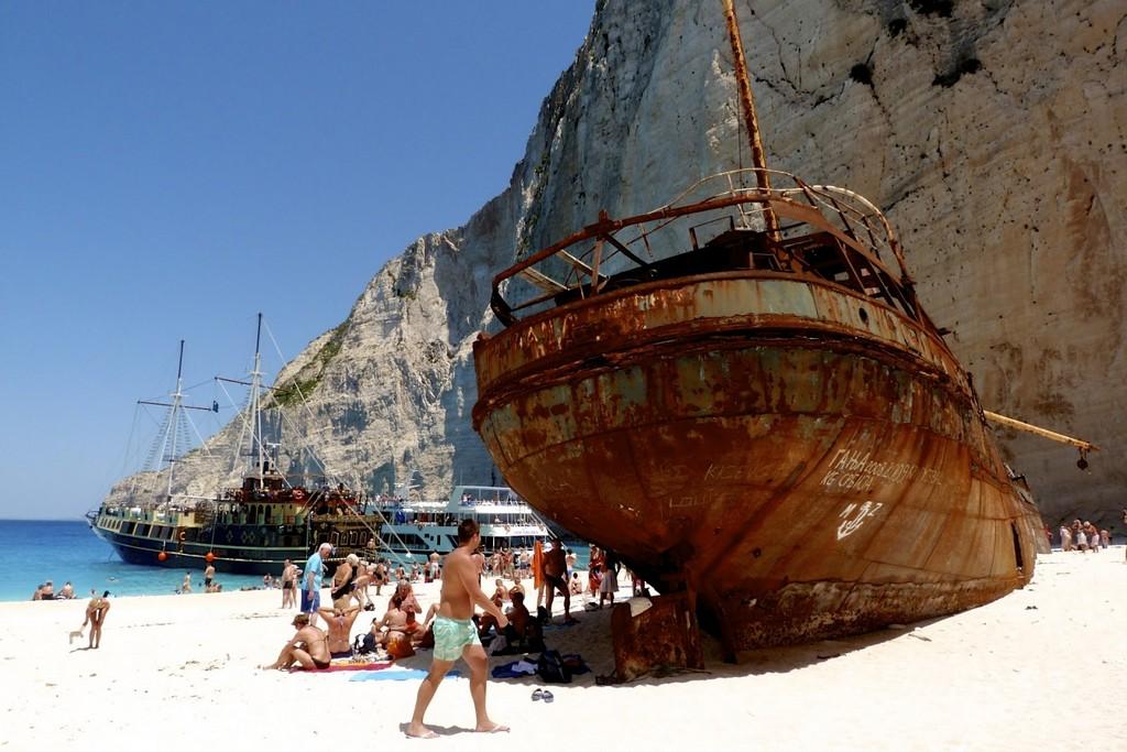 Navagio Beach _Greece Beaches_Source www.zakynthostravelguide.com