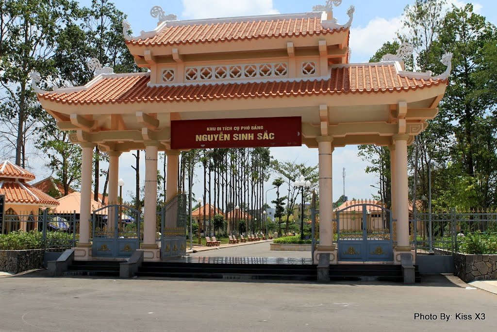 Nguyen Sinh Sac historical site Dong Thap tourist attraction vietnam