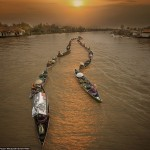 16+ stunning photos show the beauty of Lok Baintan floating market, Indonesia