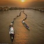 16+ stunning photos show the beauty of Lok Baintan floating market, Indonesia