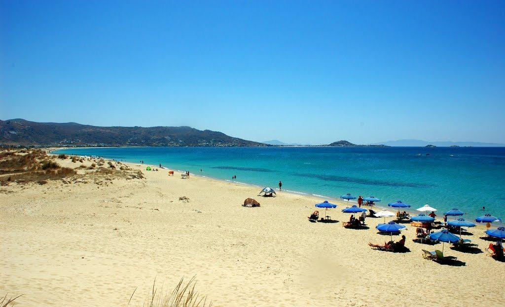 Plaka beach_Greece Beaches_Source www.greece.com