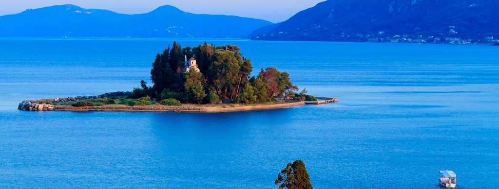 Pontikonisi Corfu_Greece Beaches_Source www.ellada.net