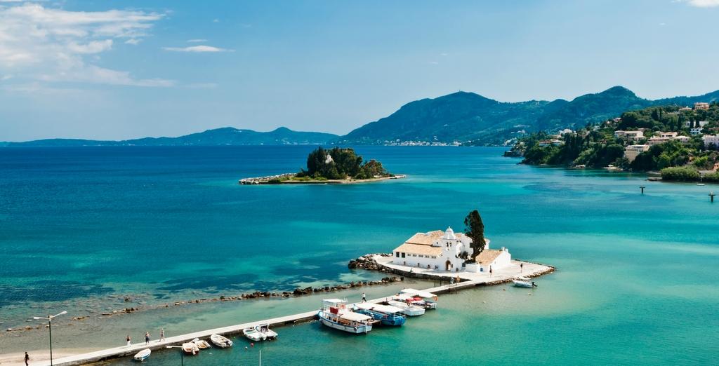 Pontikonisi Corfu_Greece Beaches_Source www.thousandwonders.net