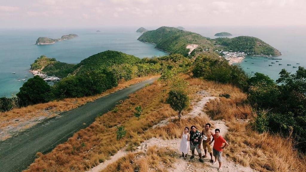 Coastal road of Nam Du Islands
