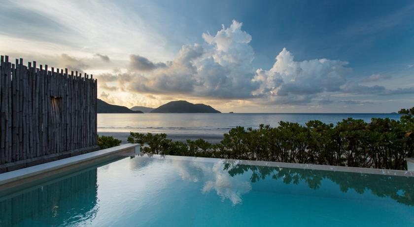 Six senses resort Con Dao island outdoor swimming pool vietnam beds trip ideas tipsluurious fantastic views of the sea
