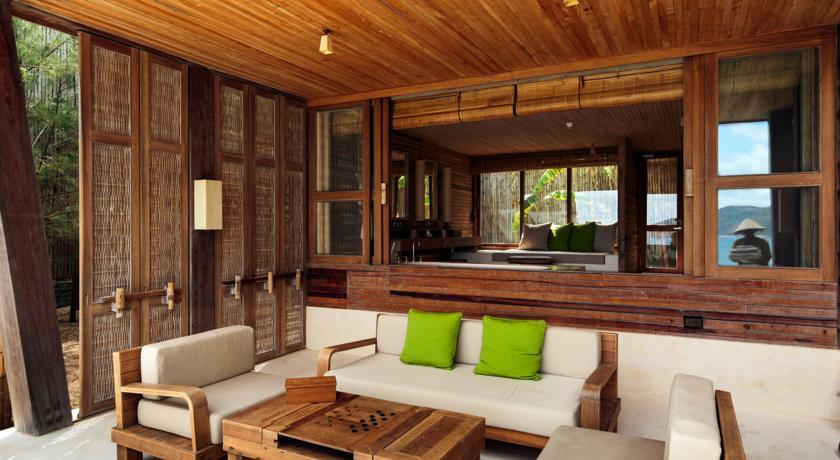 Six senses resort Con Dao island vietnam trip ideas tips livingroom luxurious