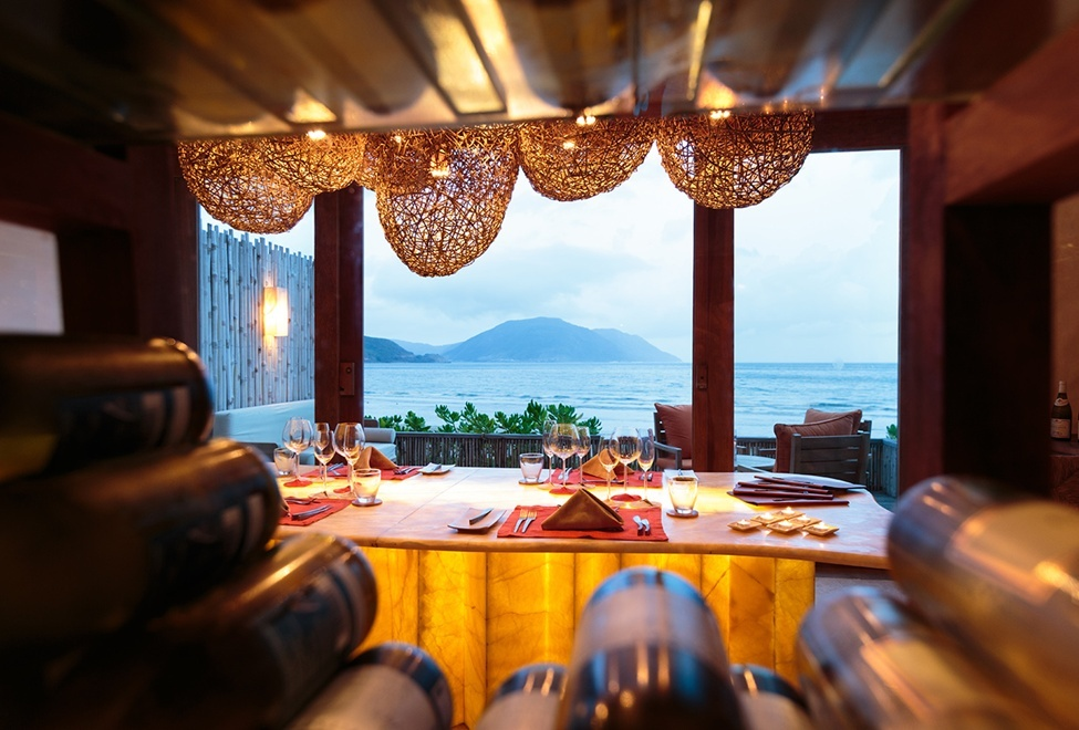 Six senses resort dinner wood villa Con Dao island vietnam trip ideas tips luxurious