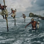 The art of fishing on stilts in Sri Lanka