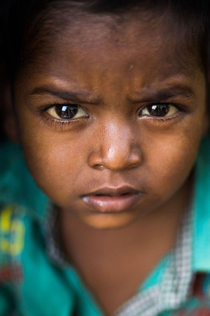 Young Boy Of Varanasi (India)