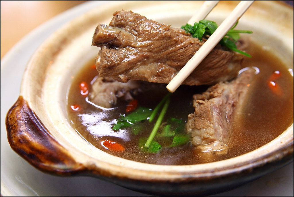 Bak Kut Teh has a distinctive and aromatic flavor