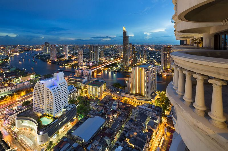 bangkok thailand photos from above 12