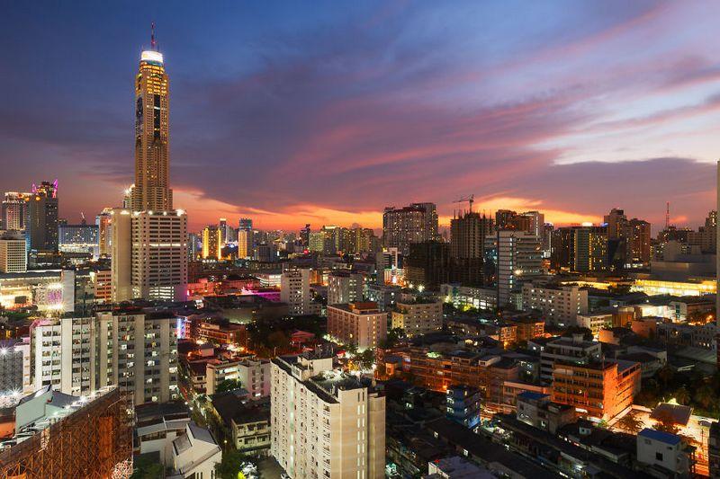 bangkok thailand photos from above 13