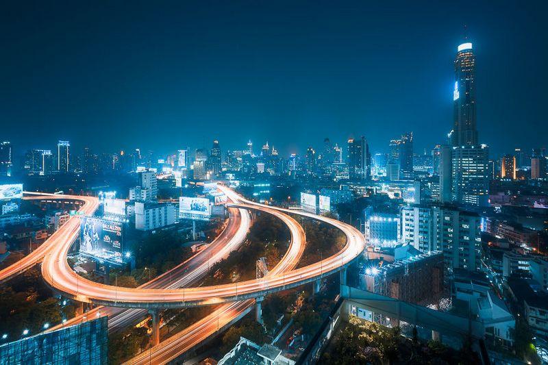 bangkok thailand photos from above 17