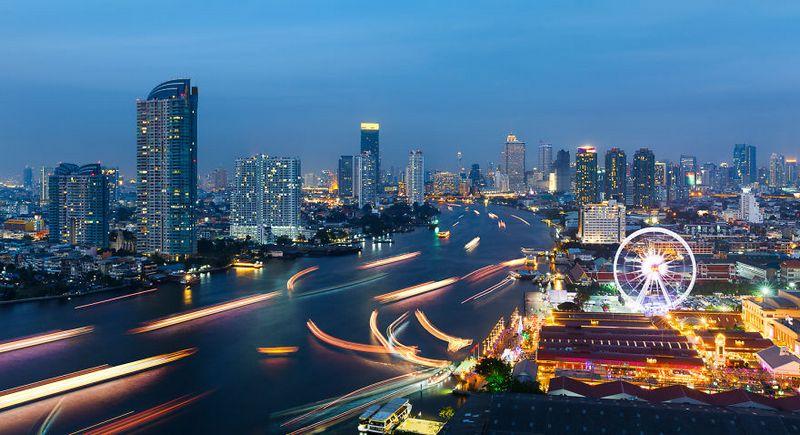bangkok thailand photos from above 19